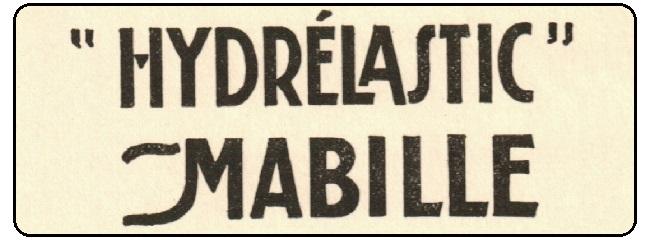 """Publicité """"Hydrélastic Mabille"""" n°3 – Années 1920-1930"""