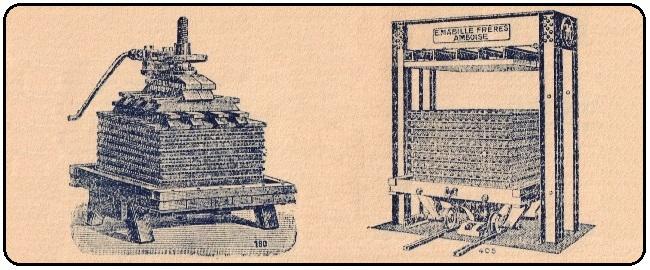 """Dépliant Matériel Cidricole – SARL """"Pressoirs Mabille"""" – Années 1930"""